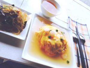 シェアカフェ 天津飯2